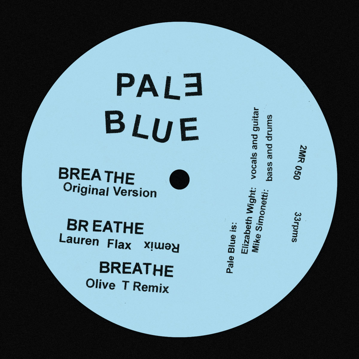 Pale Blue's new EP 'Breathe' available on vinyl or download in the store TOMORROW