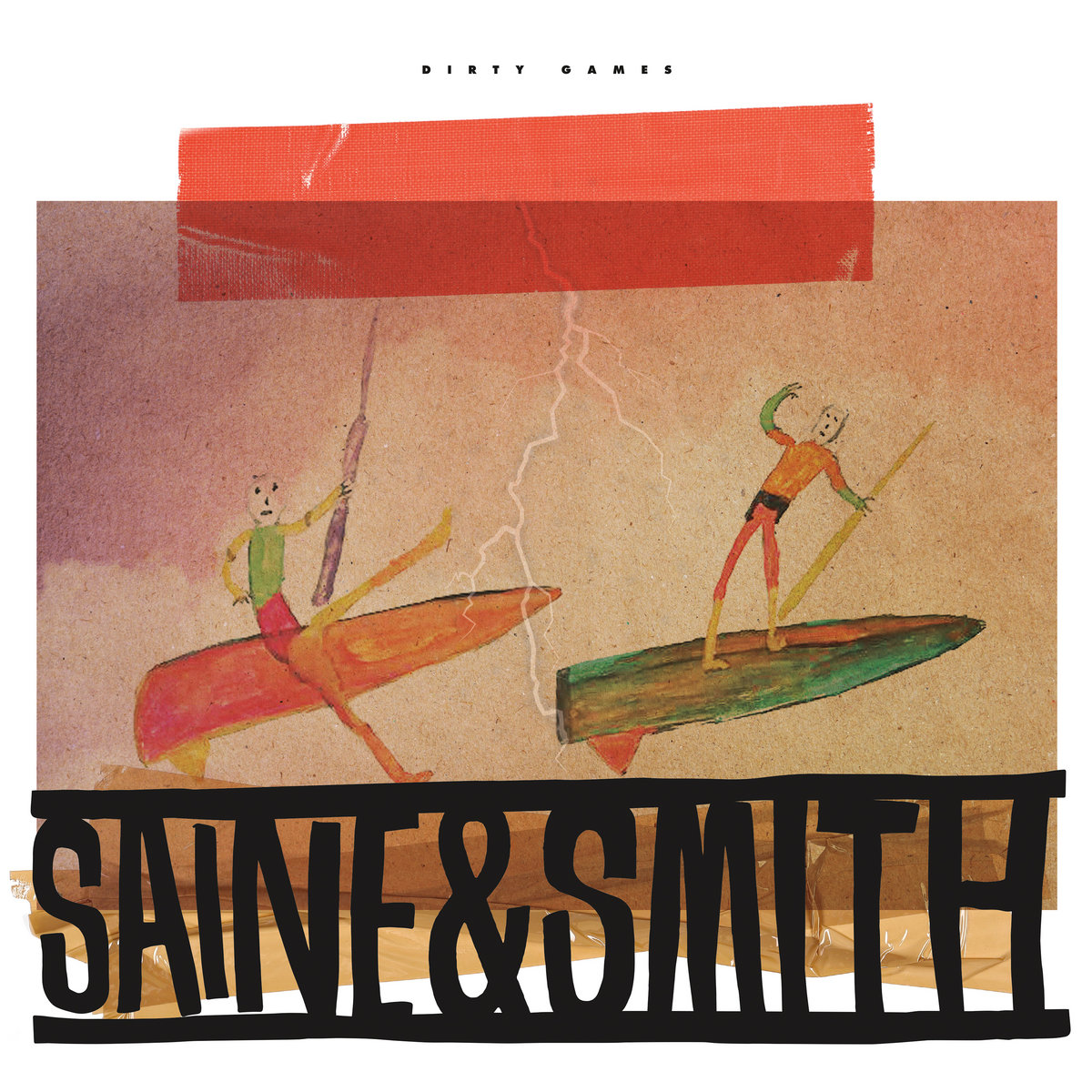 2MR-035 – Saine & Smith – Dirty Games EP